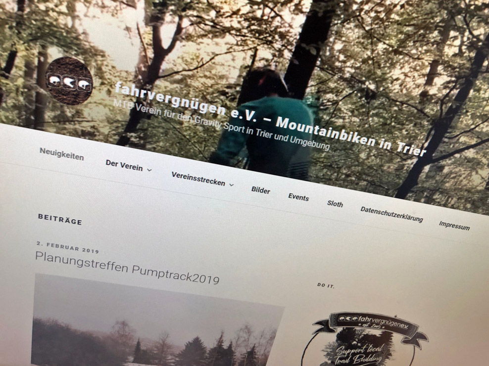fahrvergnügen e.v. - Website